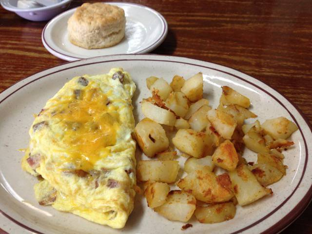 Fairbanks Restaurant Omelet