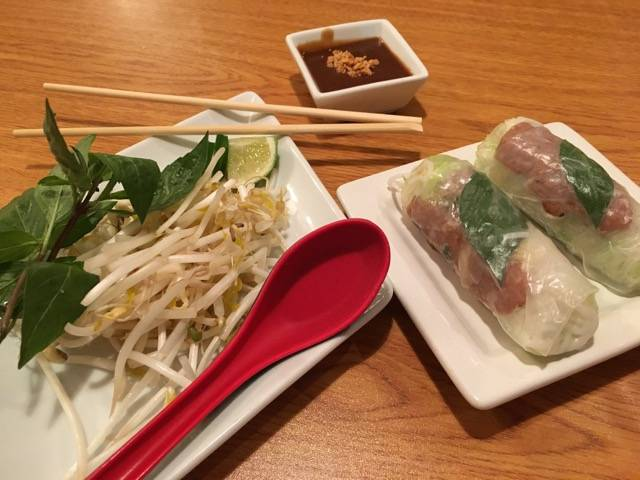 Pho and Roll rolls