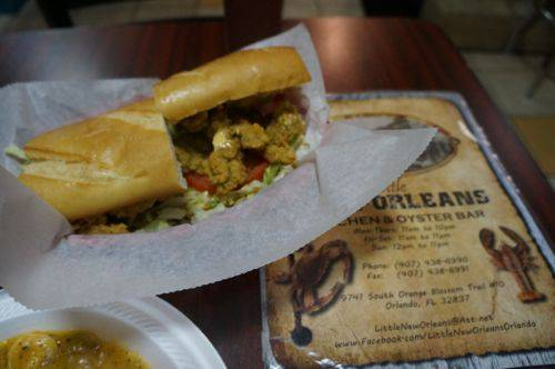 Little New Orleans Poboy
