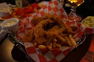 Splitsville fish chips