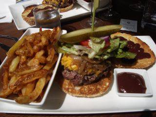 lautre table burger